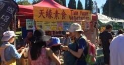 Tian Yuan is a popular vegetarian food stall