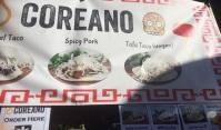 Coreano - Korean / Mexican fusion food. Vegan taco!